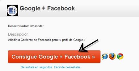 facebook en google plus