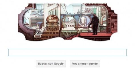 Google Doodle Borges