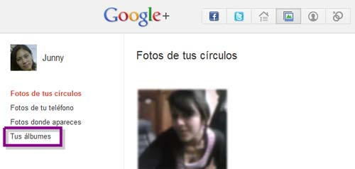 editar fotos en google plus