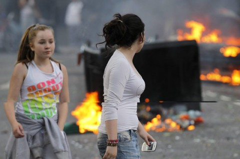 Twitter Reino Unido Disturbios