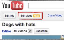 editar videos en youtube