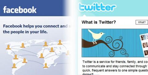 Facebook con Twitter intregración