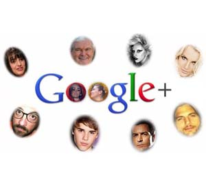google plus celebridades
