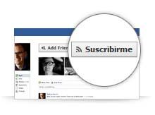 """Facebook lanza """"suscribirme"""""""