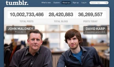 tumblr 10 billones mensajes