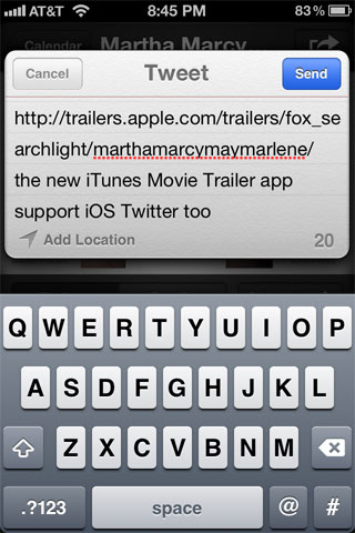 Twitter iOS 5 Apple
