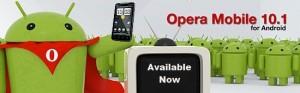 Logo de Opera Mobile en Android Market