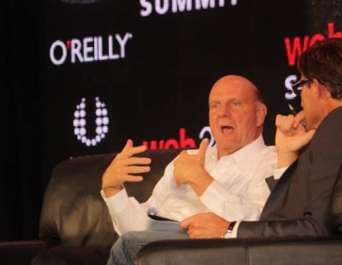Ballmer en la cumbre web 2.0
