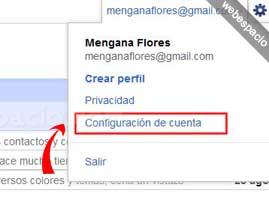 como cancelar correo gmail