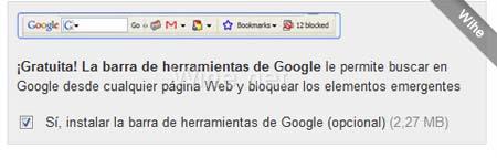 barra de google