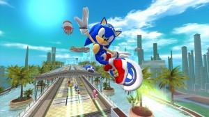 Sonic Free Rider para Kinect