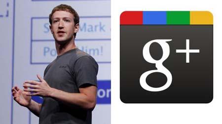 Mark-Zuckerberg subestima a Google Plus