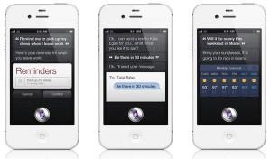 Siri en iPhone