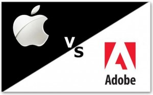 Apple versus Adoble Flash Player