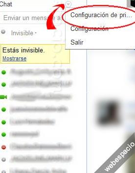 Cómo administrar contactos de Google+ en el chat de Google