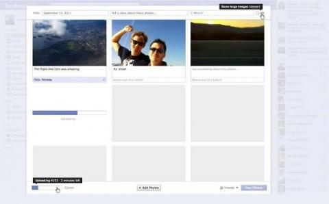 Nuevo etiquetado de fotos en Facebook