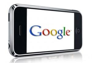 iPhone con servicios de Google