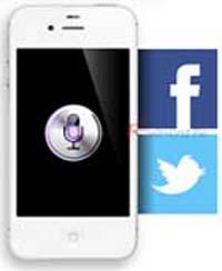 Actualizar Facebook y Twitter con Siri
