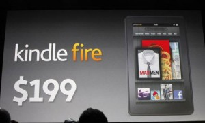 Presentación del Kindle Fire de Amazon