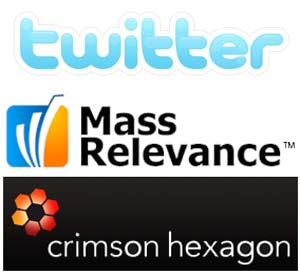 mass relevance, crimson hexagon y twitter