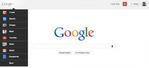 Barra de navegación de google ahora será menú desplegable