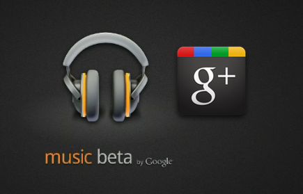 Google plus integrado con Google Music