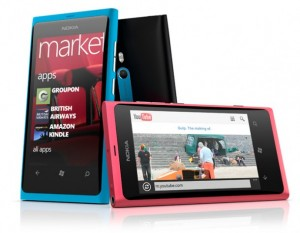 Nokia Lumia 800 de Windows Phone