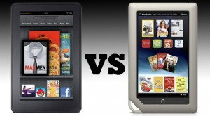 Nook Tablet versus Kinles Fire