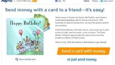 PayPal lanza aplicación gratuita para enviar dinero por Facebook