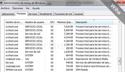 procesos de windows