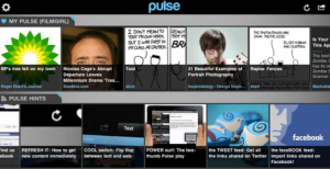 Pulse, aplicación del Kindle Fire