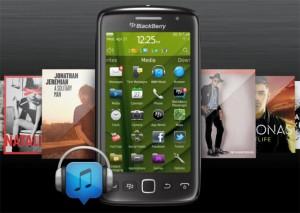 Nuevo Blackberry Music