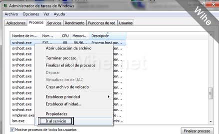 Procesos de windows