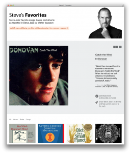 Canciones favoritas de Steve Jobs