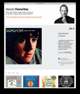 Canciones favoritas de Steve Jobs