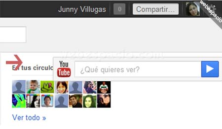 youtube en google plus