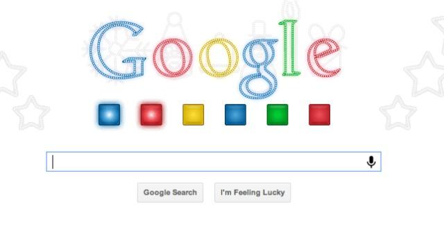 Doodle Google navidad