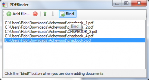 PDFBinder como unir