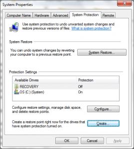 Pasos para la copia de seguridad de Windows 7