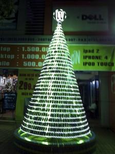 Arbol navideños de móviles