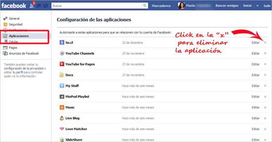 Cómo eliminar una aplicación de Facebook