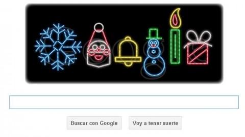 Doodle de Google por Navidad