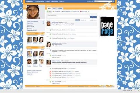 Facebook en alerta por aplicación que personaliza el perfil con fondos