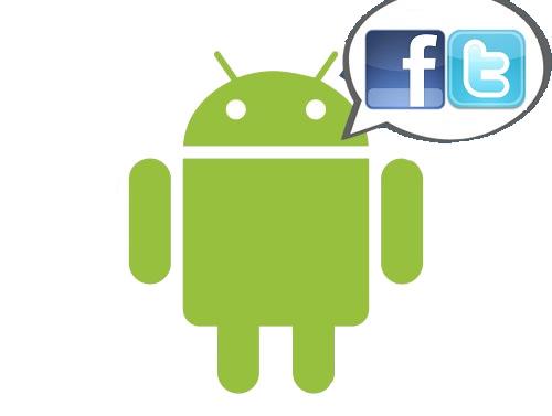 Facebook y Twitter logo