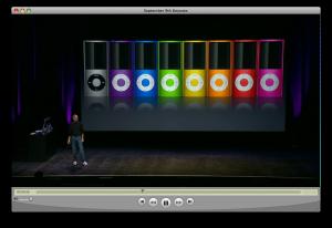 Steve Jobs con iPods
