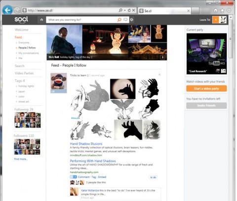 So.cl, la red social de Microsoft para estudiantes