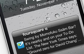 """Cómo usar el botón """"Save to Foursquare"""""""