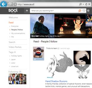 So.cl, la red social de Microsoft