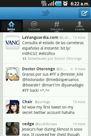 Twitter en Android
