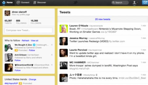 Nuevo Twitter más sencillo